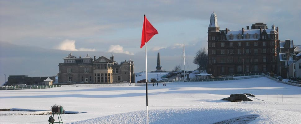ST ANDREWS IN WINTER